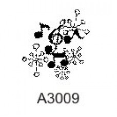 A3009 Music Notes