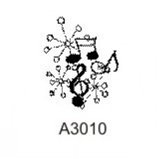 A3010 Music Notes