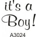 A3024 It's a Boy