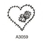 A3059 Patched Heart