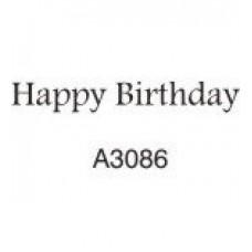 A3086 Happy Birthday