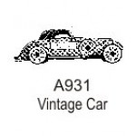 A931 Small Vintage Car