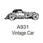 A931 Vintage Car