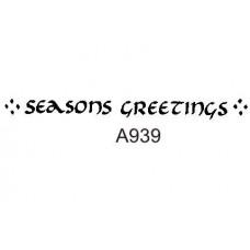 A939 Seasons Greetings