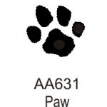 AA631 Solid Paw