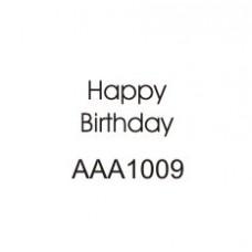 M1009 Happy Birthday