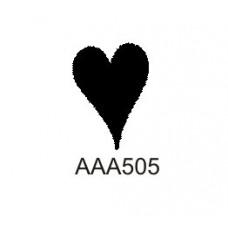 AAA505 Solid Heart