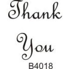 B4018 Thank You