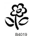 B4019 Bold Flower