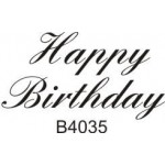 B4035 Happy Birthday