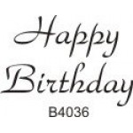 B4036 Happy Birthday