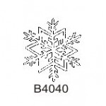 B4040 Small Snowflake