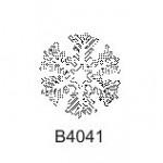 B4041 Small Snowflake