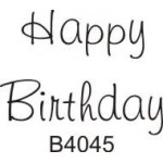 B4045 Happy Birthday