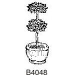 B4048 Small Topiary in Pot