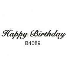 B4089 Happy Birthday