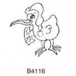 B4116 Christmas Kiwi