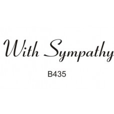 B435 With Sympathy