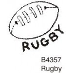 B4357 Rugby Ball