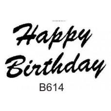 B614   Happy Birthday