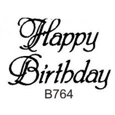 B764 Happy Birthday