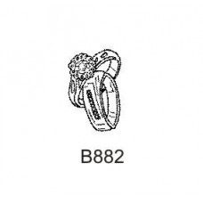 B882 Wedding Rings