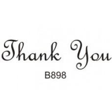 B898 Thank You