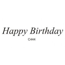 C444 Happy Birthday