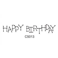 C5013 Happy Birthday