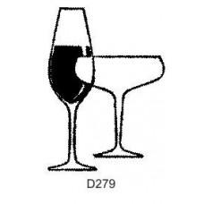 D279 Wine Glasses