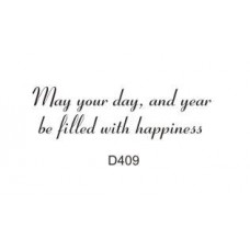 D409 Filled with Happiness