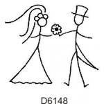 D6148 Bride & Groom