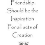 D6187 Friendship should be...