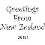 D6191 Greetings From New Zealand