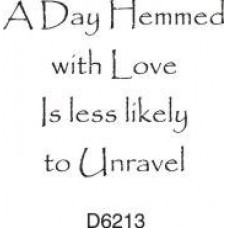 D6213 A Day Hemmed with Love