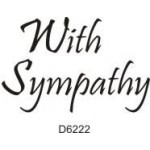 D6222 With Sympathy