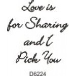 D6224 Love is for Sharing