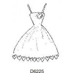 D6225 Love Heart Dress