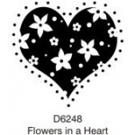 D6248 Flowers in a Heart