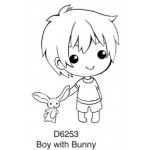 D6253 Boy with Bunny