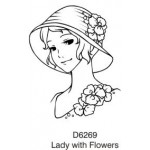 D6269 Lady with Flowers