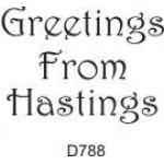D788 Greetings From Hastings