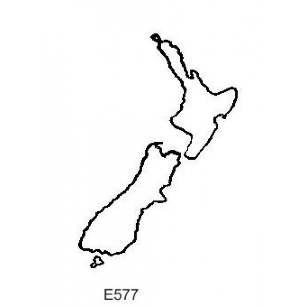Line Drawing Of New Zealand : E new zealand outline