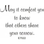 E7022 May it Comfort You