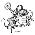 E7066 Mice and Watering Can