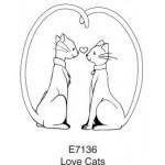 E7136 Love Cats