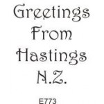E773 Greetings From Hastings N.Z.