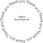 F8015 Round Thank You