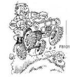 F8101  4 Wheel Biker