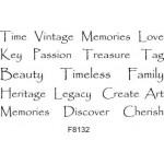 F8132 Time, Vintage, Memories...